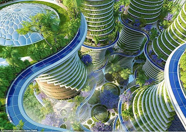 Vincent callebaut 39 s hyperions the new era of eco friendly for Eco green builders