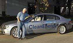 Jay Leno BMW Hydrogen 7