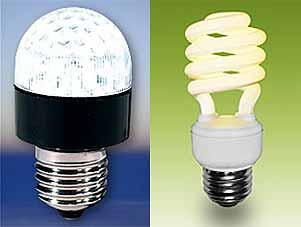 CFL or LED Light Bulbs? | Green Tech Gazette:CFL and LED bulbs,Lighting