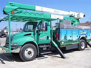 PHEV Utility Truck