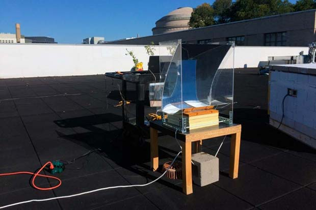 MIT Solar Steam Device