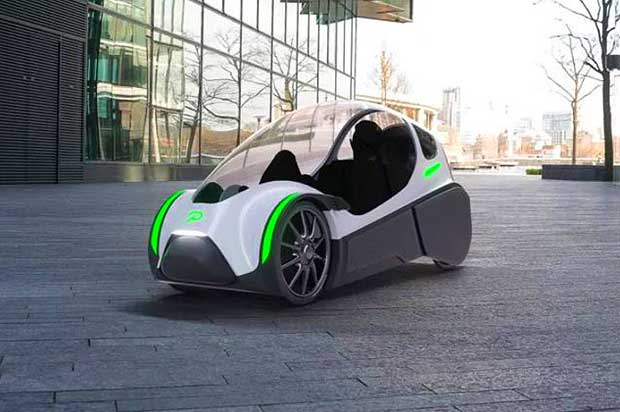 Velomobile from Norway